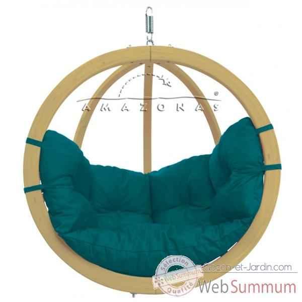 hamac amazonas suspendu globo chair green dans fauteuil. Black Bedroom Furniture Sets. Home Design Ideas