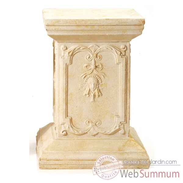 Piedestal et Colonne-Modele Queen Anne Podest, surface gres-bs1002sa