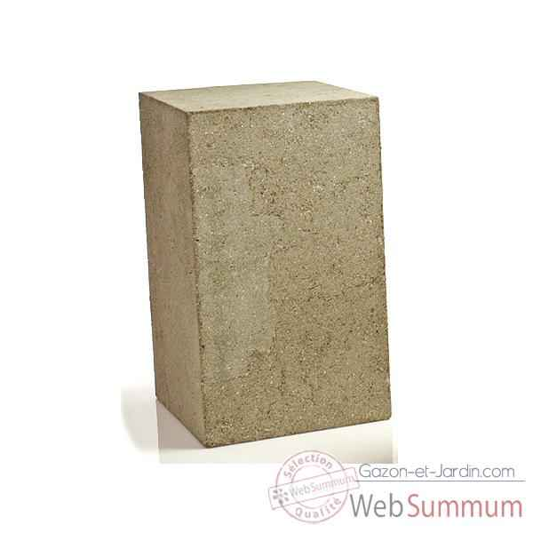 Colonne et Piedestal Display Pedestal Medium, granite -bs1015GRY