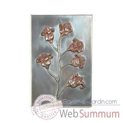 Decoration murale Poppy Wall Plaque, aluminium -bs2313alu
