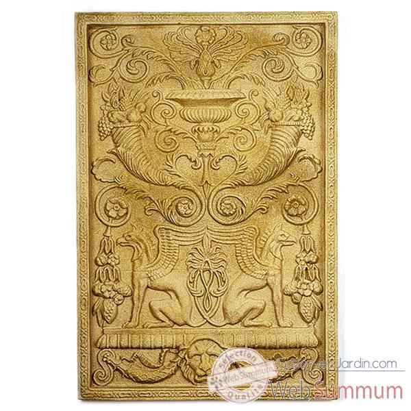 Decoration murale Wall Decor -Griffin Motif, marbre vieilli -bs2602ww