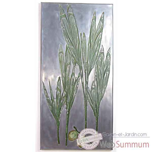 Decoration murale Coconut Wall Plaque, aluminium -bs3282alu