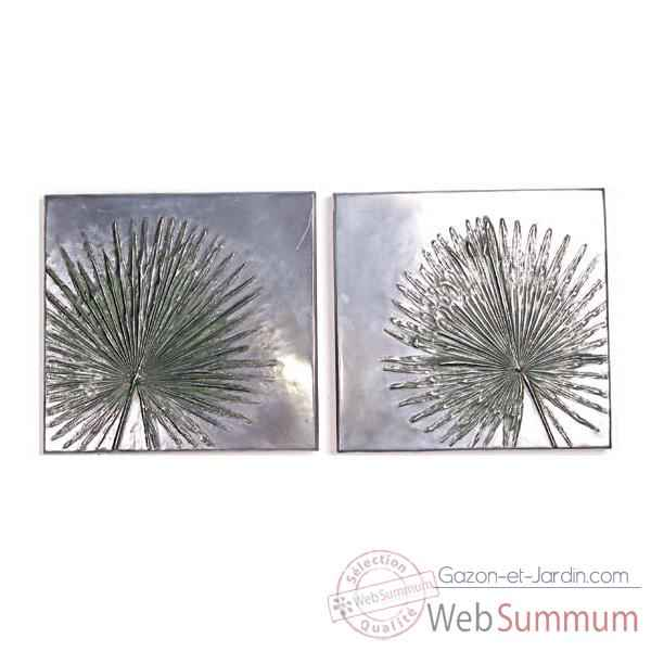 Decoration murale Anahaw Junior Wall Plaque Positive Set, aluminium -bs4099alu