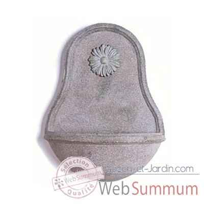 Fontaine Malaga Wall Fountain, granite -bs3130gry