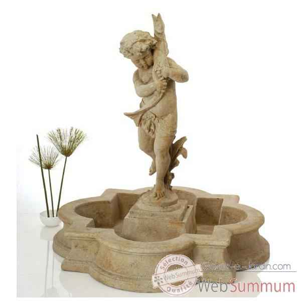 Fontaine Madrid Fountain Basin, marbre vieilli -bs3160ww