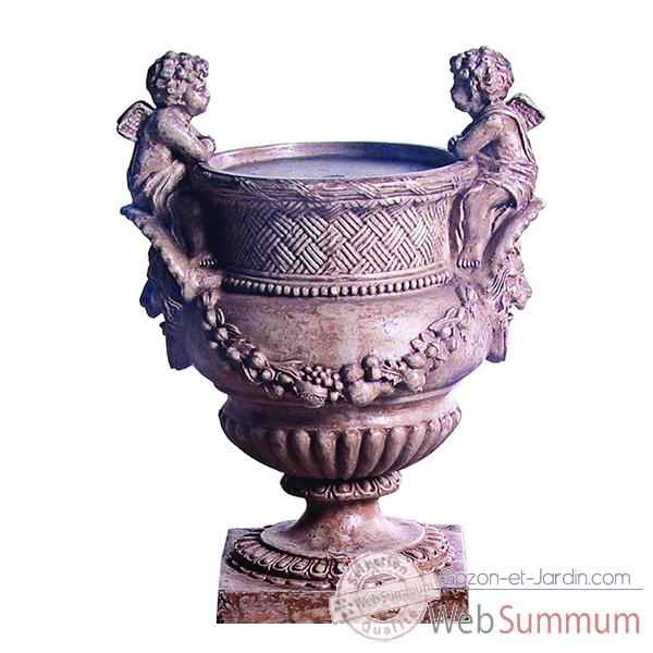 Fontaine Cherub Urn Fountainhead, granite -bs3299gry
