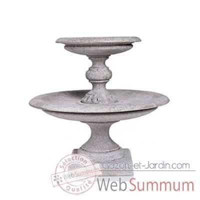 Fontaine Turin Fountainhead, granite -bs3313gry
