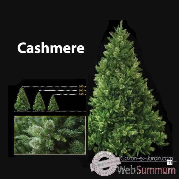 Sapin de Noël 240 cm Professionnel Cashmere pin Vert de Berdeco sur ...