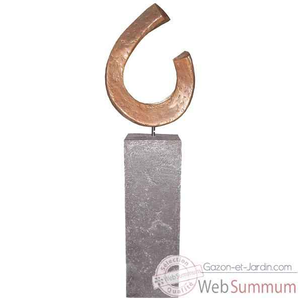 Sculpture Apoy Garden Sculpture, aluminium -bs3411alu -alabnp