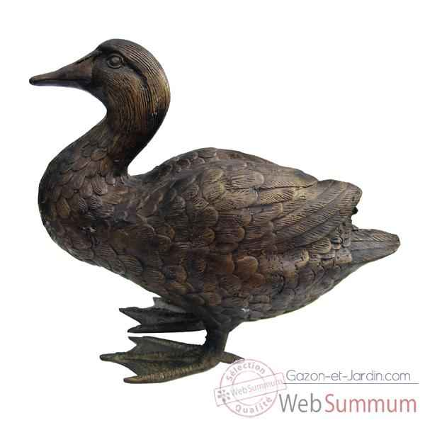 Canard en bronze de d coration bronze web summum dans for Decoration canard