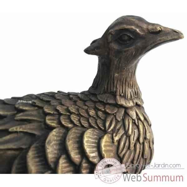 Canard en bronze de d coration bronze web summum dans animaux de la foret de animaux - Bassin canard mauritius saint paul ...