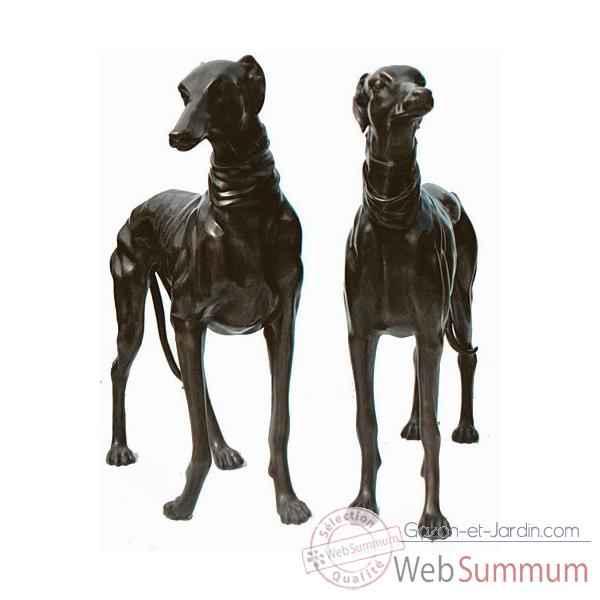 chien en bronze brz144 de d coration bronze web summum dans chien de animaux bronze. Black Bedroom Furniture Sets. Home Design Ideas