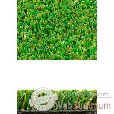 Gazon synthetique GardenGrass sans remplissage -Luna