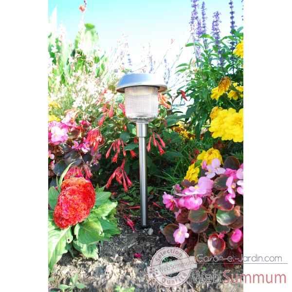Luminaire solaire new port elumin lsw 06 de wagner de for Jardin deluxe fleurs