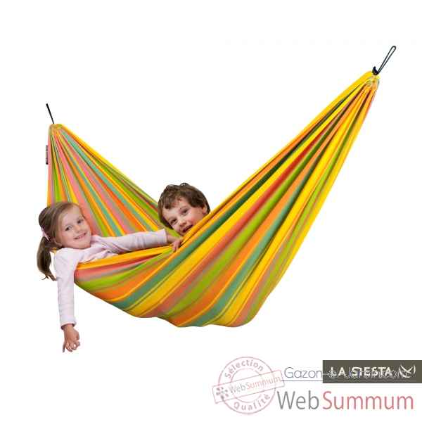Hamac enfant resistant aux intemperies papagayo fruity La Siesta -PPH11-5
