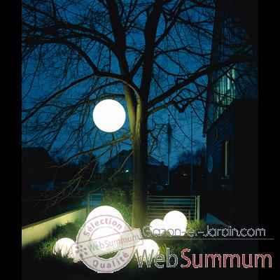 lampe demi lune blanche moonlight hmfl750060 de am nagement jardin. Black Bedroom Furniture Sets. Home Design Ideas