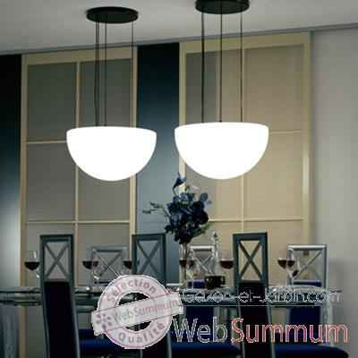 Lampe ronde a suspendre granite Moonlight -mlhslfgr750.011052