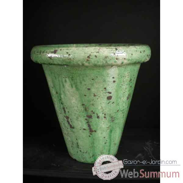 Pot droit vert petit V-CO-small-V