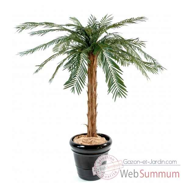 Cycas artificiel palm Rochers Diffusion -1243-71