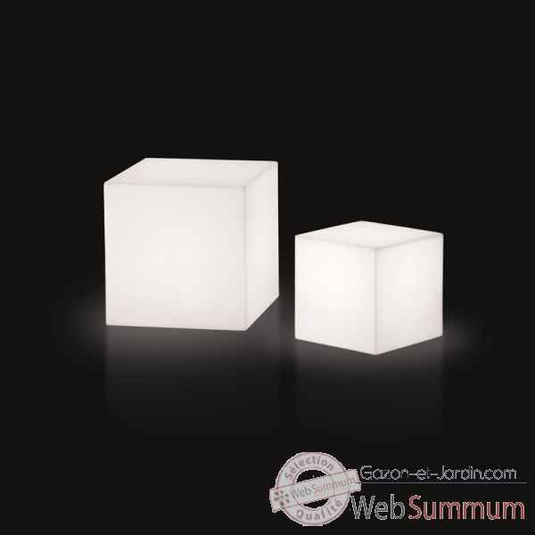 Lampe design design piantana cubo rouge lampe ip55 SD FCC130