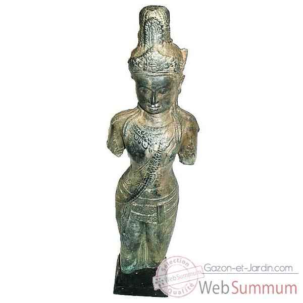 Statuette antique en bronze -BRZ613