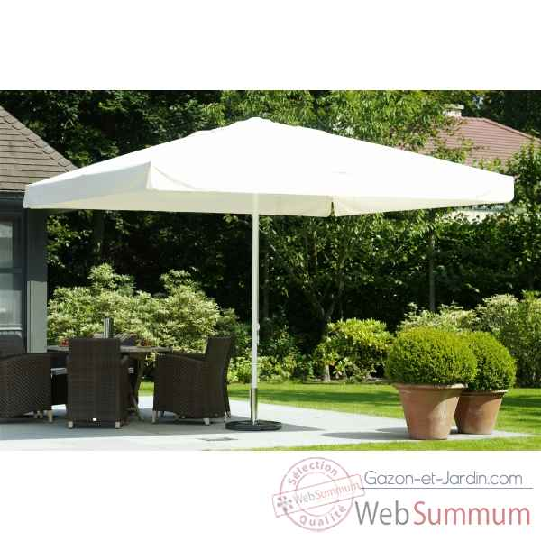 Parasol symo party carre 3,5 m avec volant -party-c-350-av