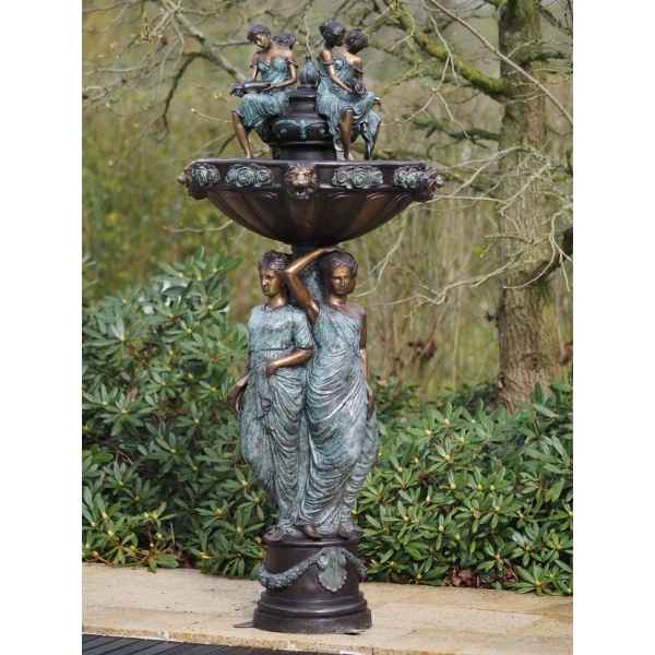 Fontaine avec 3 femmes Thermobrass -B47014